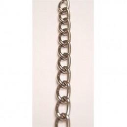 Chaine plaquée nickel 3 mm