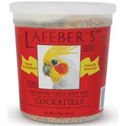 Lafeber's cockatiel pellets...