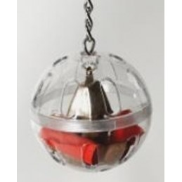 Foraging ball with chain 5''