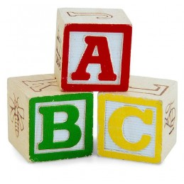Bloc ABC (12 pcs)