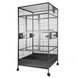 Cage HARI à toit plat pour...