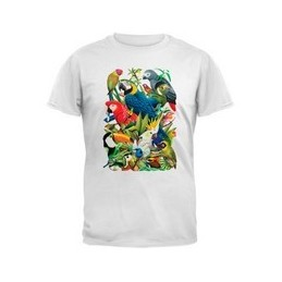T-shirt magique Oiseaux mixtes