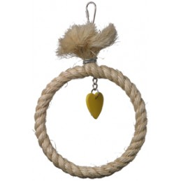 SISAL RING SWING - 6""