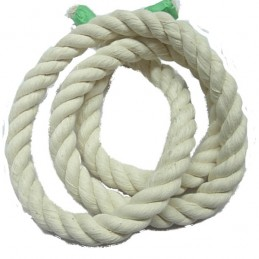 Corde de coton 3/4'' (10...
