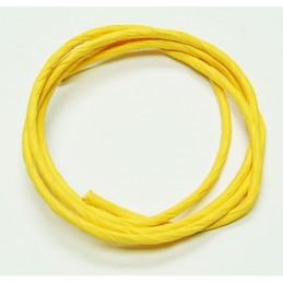 Corde de papier jaune 1/4''