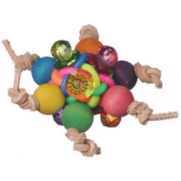 Disco ball foot toy