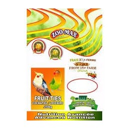 Fruit-ties cockatiel 250gr