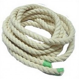 Corde de coton 1/4'' (10...