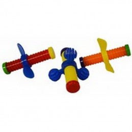 Wing nuts foot toy (3 pcs)