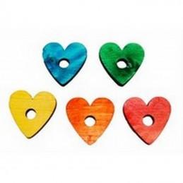 Coeur en pin couleur