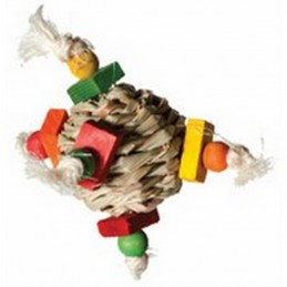Hayball foot toy