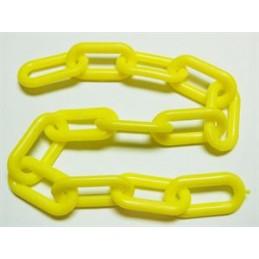 "Chaine jaune en plastique 2"""