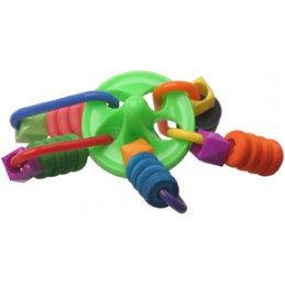 Ripple top foot toy