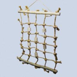 Hemp climbing ladder