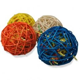 Wicker balls 4''