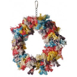 Cotton wreath Med