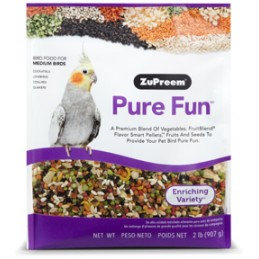 Zupreem Pure Fun (cockatiel)